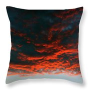Hanging Clouds Throw Pillow