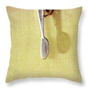 Hanging Knife On Jute Twine Throw Pillow