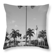 Hanging Lamps Throw Pillow