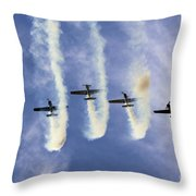 Hanging On The Sky  Throw Pillow