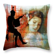 Hanging On To The Dream Throw Pillow