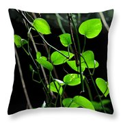 Hanging Vines Throw Pillow