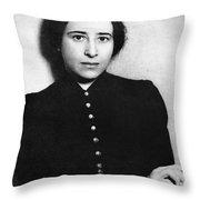 Hannah Arendt (1906-1975) Throw Pillow