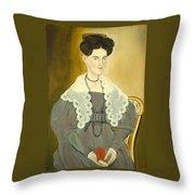Hannah Fisher Stedman Throw Pillow