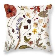 Hannah's Poppy Throw Pillow