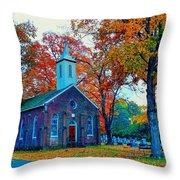 Hanover Church - Fall Throw Pillow