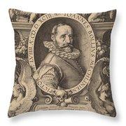 Hans Bol Throw Pillow