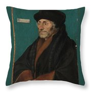 Hans Holbein The Younger Throw Pillow