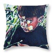 Hans Hoogervorst Throw Pillow