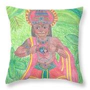 The Bhakta Throw Pillow