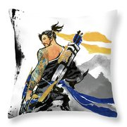 Hanzo Overwatch Throw Pillow