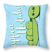 Happea Holidays Throw Pillow