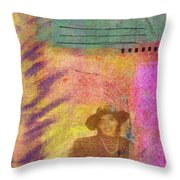 Happily Waiting Throw Pillow