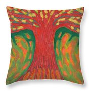 Happines Throw Pillow