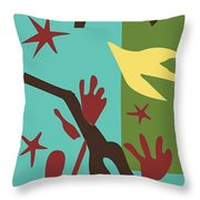 Happiness - Celebrate Life 4 Throw Pillow