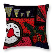 Happiness 1 Throw Pillow