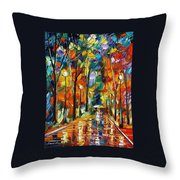 Happiness From Nature Throw Pillow