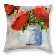 Happiness In A Pot Throw Pillow