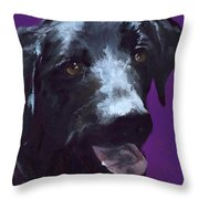 Happiness Is... Roxy Throw Pillow