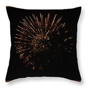 Happy 4th.from Palm Desert 1 Throw Pillow