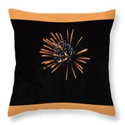 Happy 4th.from Palm Desert 2 Throw Pillow