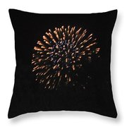 Happy 4th.from Palm Desert 3 Throw Pillow