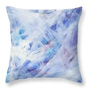 Happy Abstract Throw Pillow