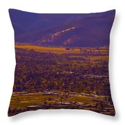Happy Ambiance  Throw Pillow