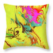Happy Anniversary Abstract  Throw Pillow