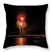 Happy Birthday United States Of America 3 Throw Pillow