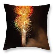 Happy Birthday, United States Of America 9 Throw Pillow