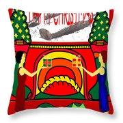Happy Christmas 13 Throw Pillow