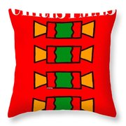 Happy Christmas 14 Throw Pillow