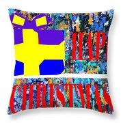 Happy Christmas 88 Throw Pillow