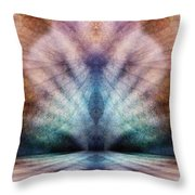 Happy Confusion Throw Pillow