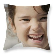 Happy Contest 10 Throw Pillow