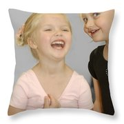 Happy Contest 13 Throw Pillow