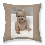 Happy Contest 14 Throw Pillow