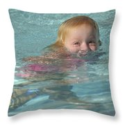 Happy Contest 4 Throw Pillow