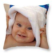 Happy Contest 7 Throw Pillow