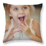 Happy Contest 8 Throw Pillow