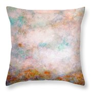 Happy Dancing Clouds Throw Pillow