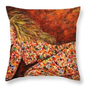 Happy Dream Throw Pillow