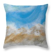Happy Fog Throw Pillow
