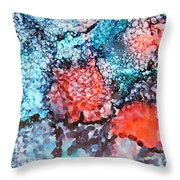 Happy Galaxy Throw Pillow