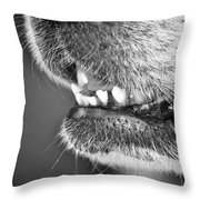 Happy Girl Throw Pillow