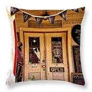 Happy Happie Cottage Haven Throw Pillow