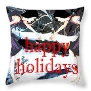 Happy Holidays 30 Throw Pillow