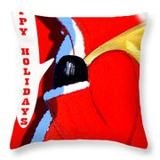 Happy Holidays 6 Throw Pillow by Patrick J Murphy