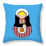 Happy Holland Throw Pillow